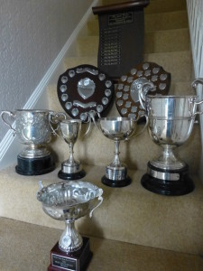 Trophies galore!